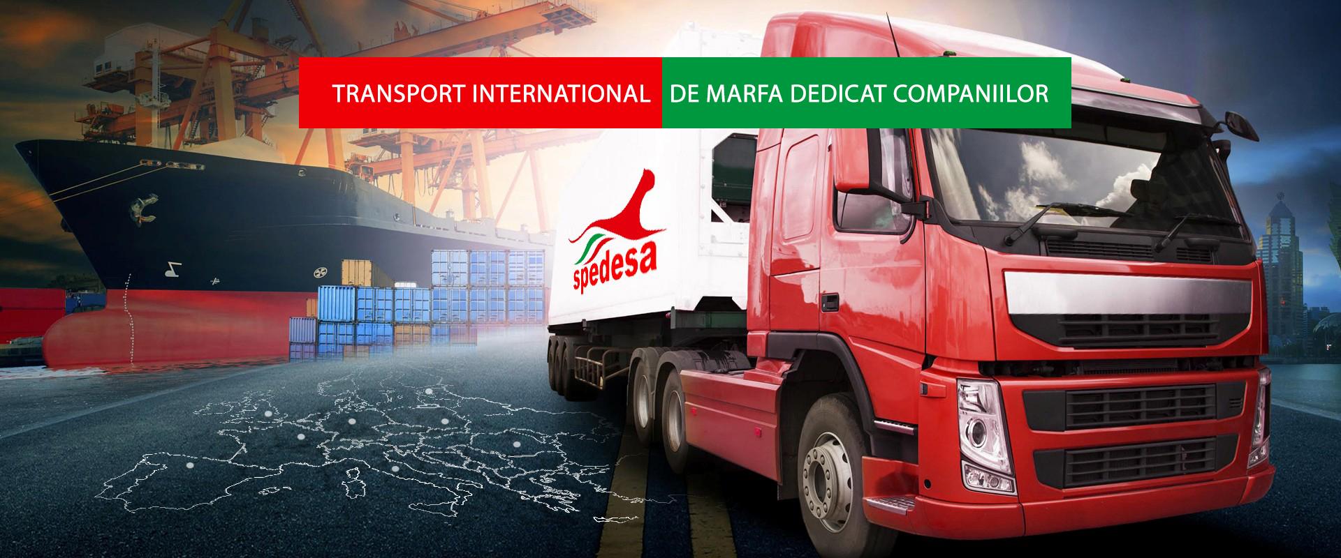 Solicita cotatie transport marfa Italia-Romania-Italia